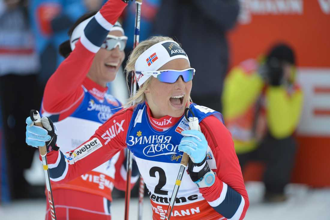 Therese Johaug. Foto: Andreas Bardell