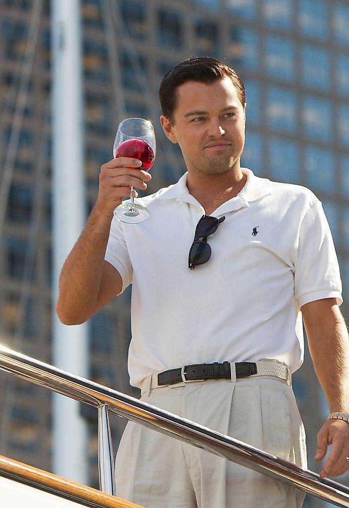 """Leonardo DiCaprio spelar huvudrollen i """"Wolf of Wall Street""""."""