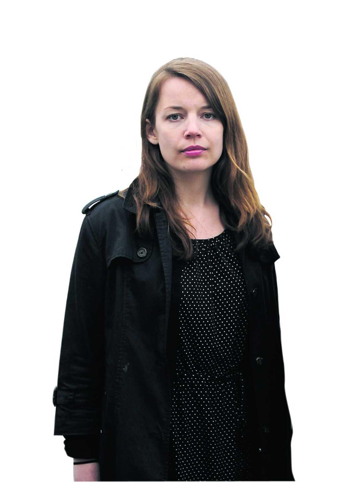 Reporter och nyhetskrönikör Karin Östman.