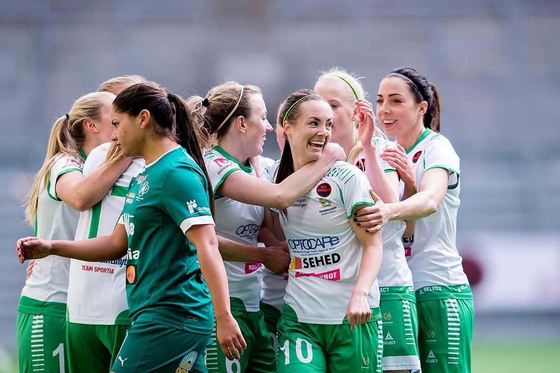 Hammarby vann med 3–1 i premiären.