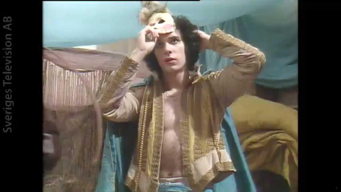 """Thorsten Flinck i """"Don Juan"""" där han och Lia Boysen samarbetade 1987 och sedan blev ett par under några år."""