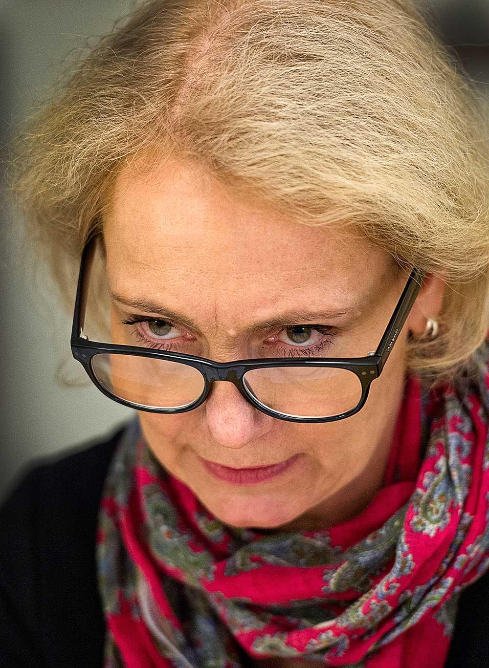 Sida-chefen Charlotte Petri Gornitzka
