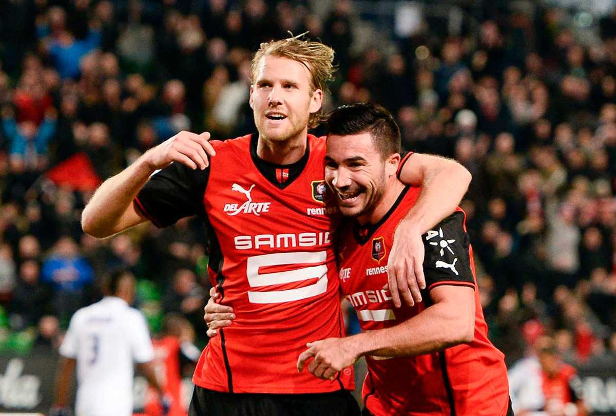 Ola Toivonen gör succé i Rennes.