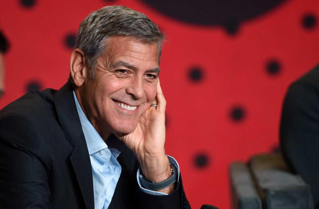 Det går ingen nöd på George Clooney. Arkivbild.