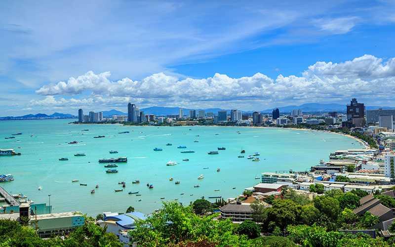 Under förra året sjönk hotellpriserna i Asien med fem procent och framförallt i Thailand. I Pattaya betalade svenskarna i genomsnitt 439 kronor per natt.