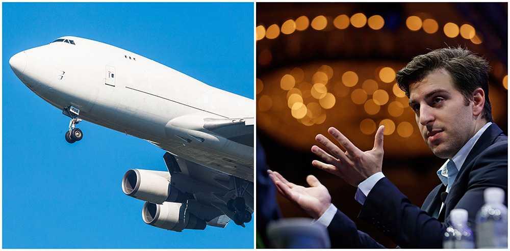 Airbnb:s vd Brian Chesky vill starta ett flygbolag.