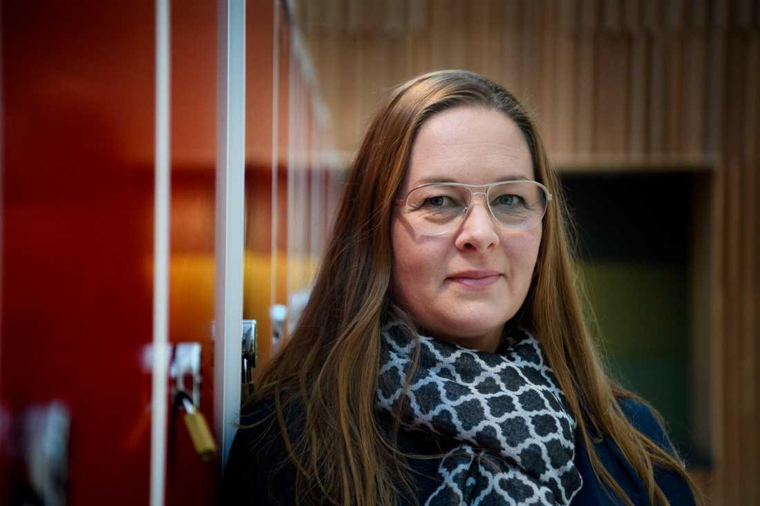Annika Sjödahl har jobbat som lärare i 20 år, mestadels på skolor i socioekonomiskt utsatta områden, likt Gröna Dalenskolan i Bålsta.