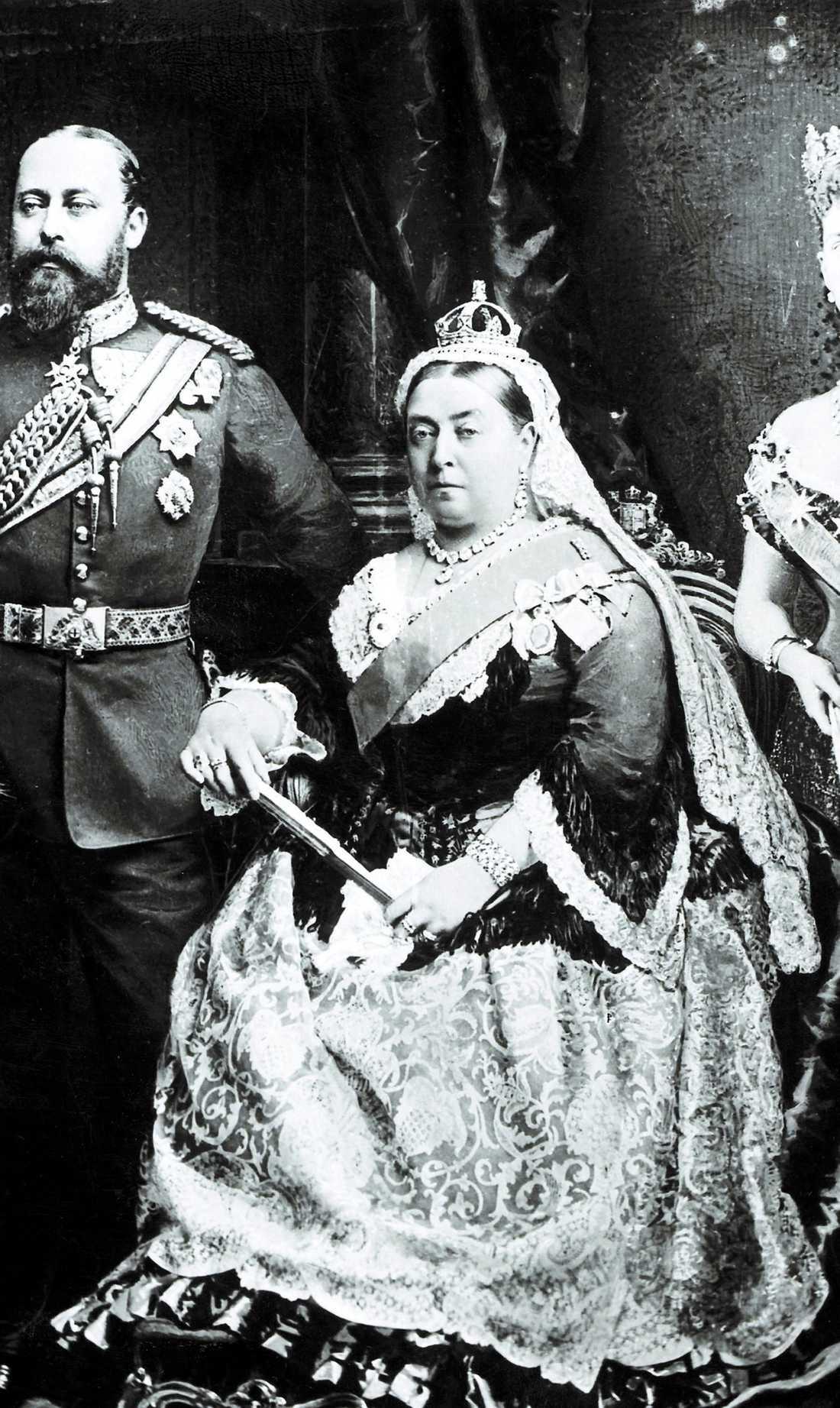 Victoria gick upp mycket i vikt efter att hennes älskade make Albert hade gått bort. Det sägs att drottningen var fåfäng – och missnöjd med sina extrakilon.
