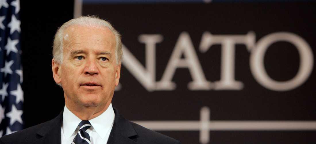 USA:s president Joe Biden väntas till Bryssel i juni då Nato-länderna håller toppmöte. Arkivfoto.
