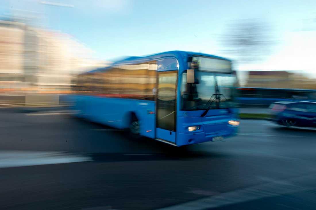 Bussar ska göra det möjligt att åka kollektivt i Vemdalsfjällen. Arkivbild.