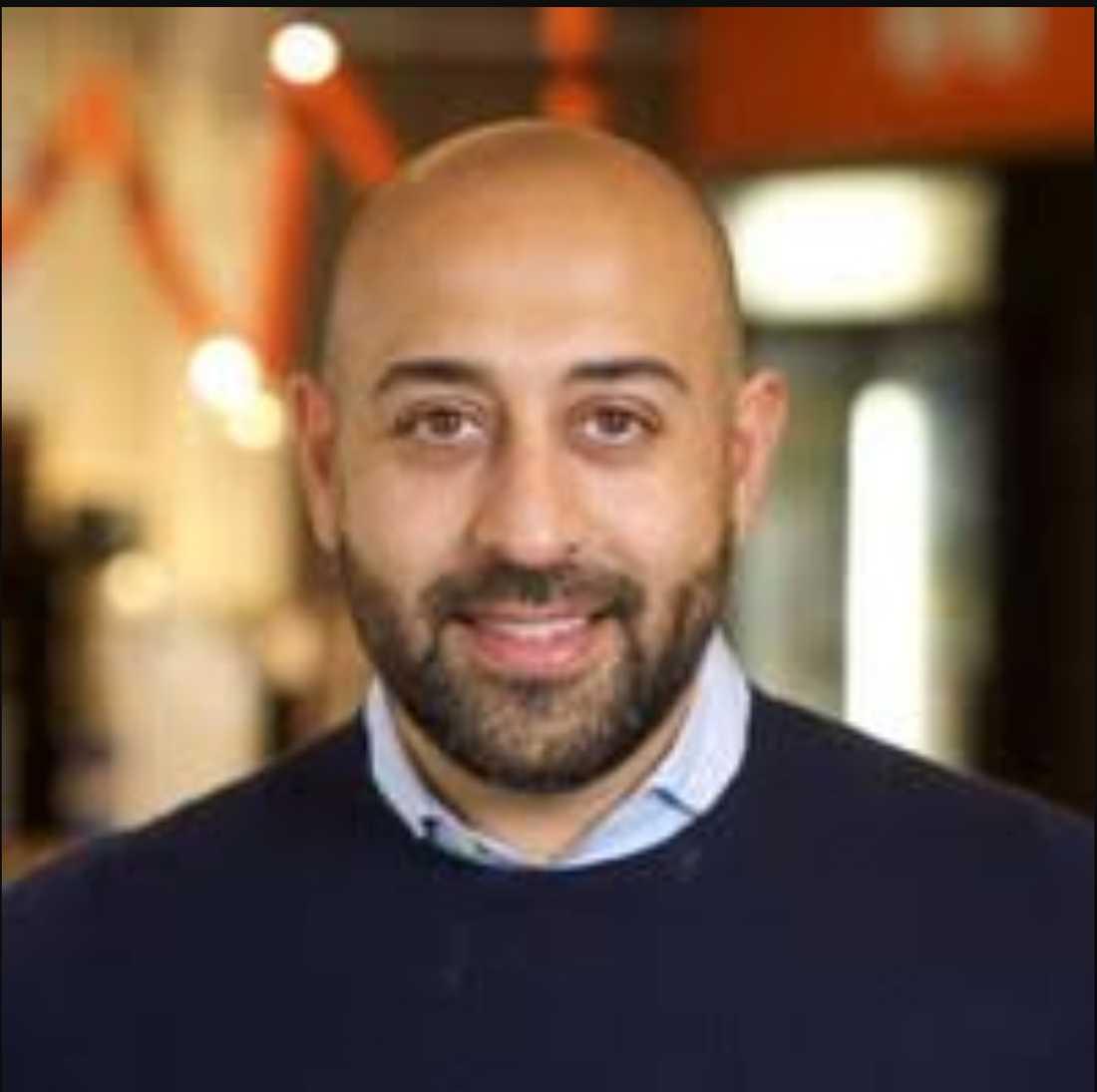 Sam Rihani, chef för Facebook i Sverige