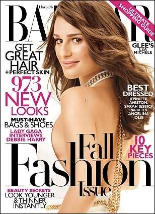 September månads upplaga av Harper's Bazaar (utkommer i augusti).