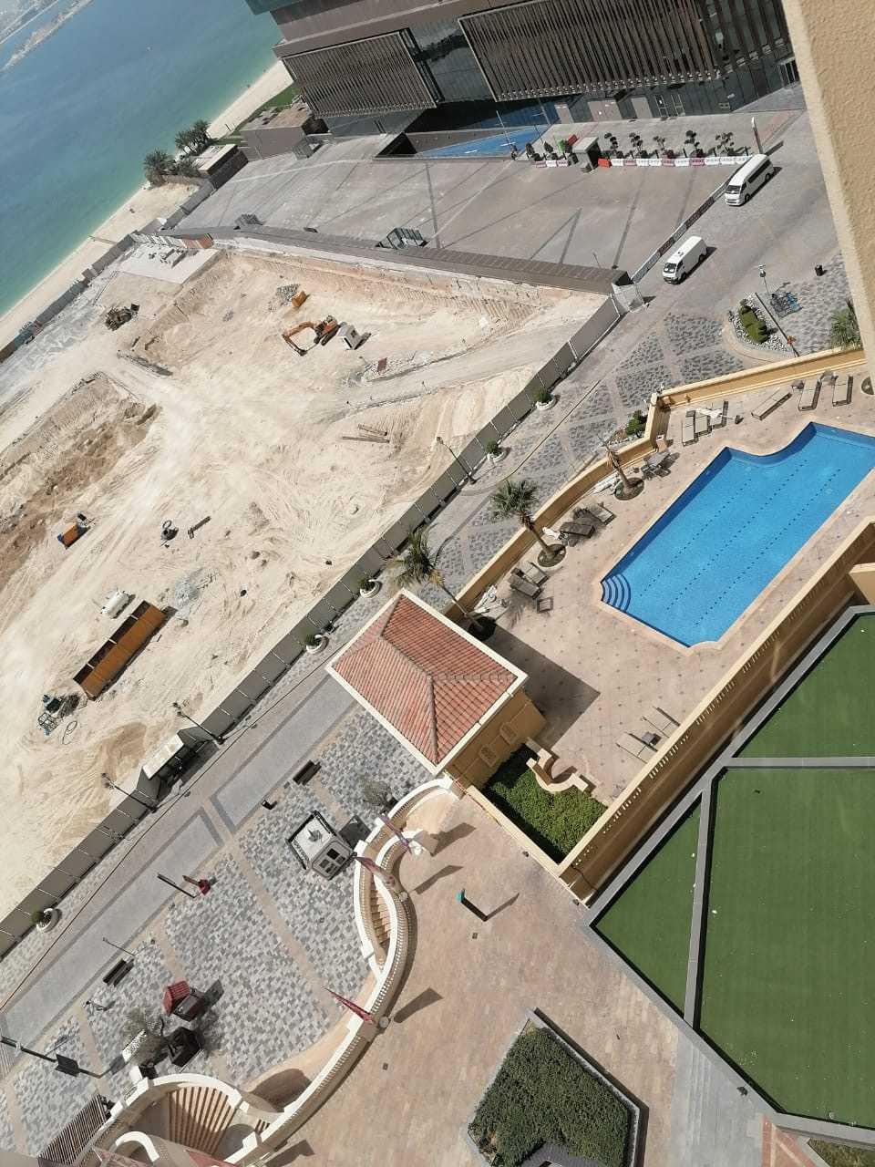 Ett tomt Dubai i spåren av coronakrisen.