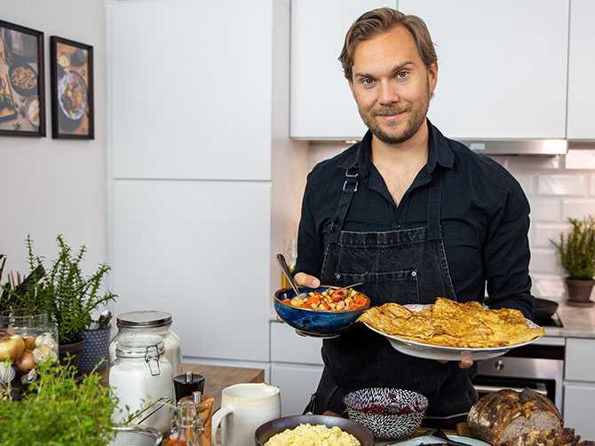 Matkreatören Gustav Johansson fortsätter att utmana våra populäraste matklassiker.