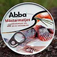+++ Abbas matmästarmatjes Omdöme: Helt okej standardsill. Vikt: 200g Pris: 6:50 (kam- panjpris)