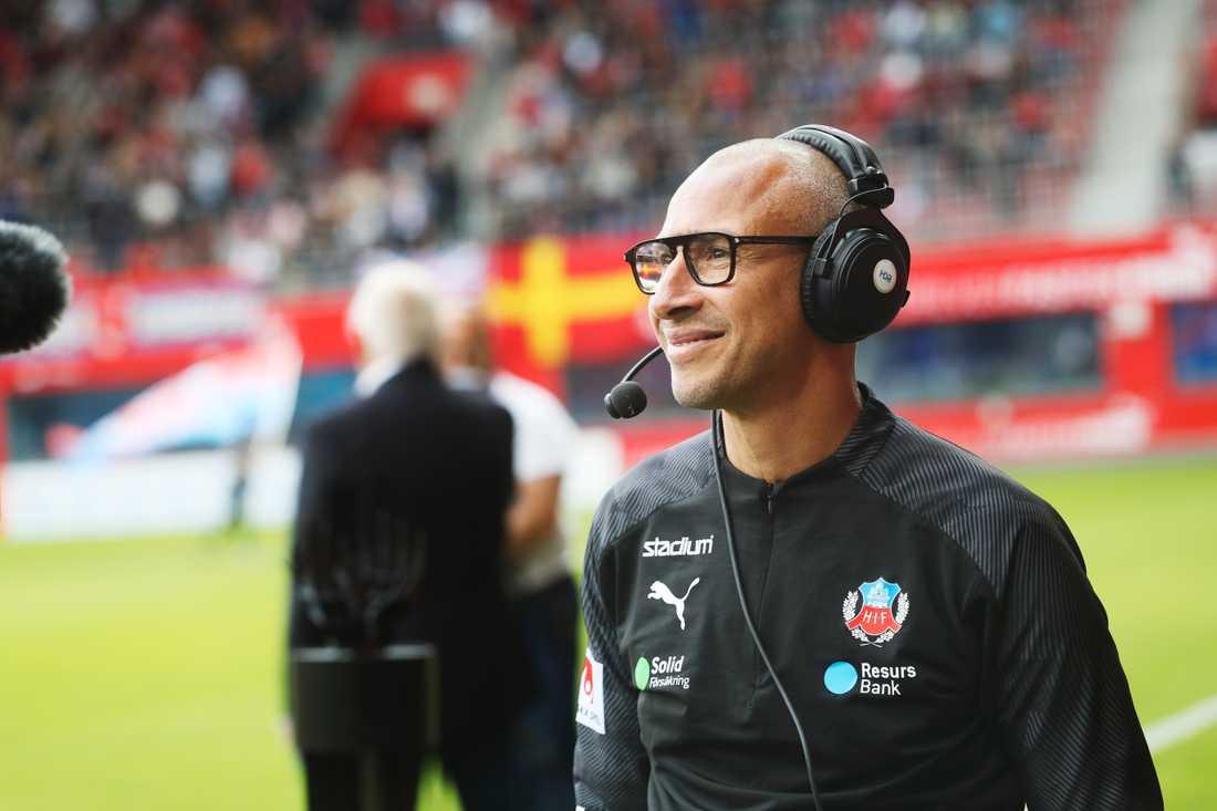 Henrik Larsson i Helsingborgsmundering.