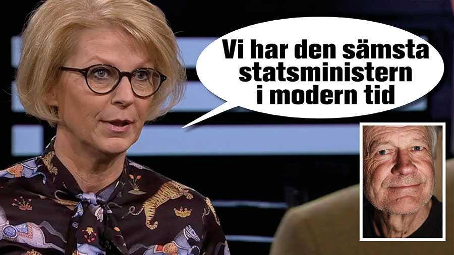 Klassförakt när Löfven sågas av Svantesson