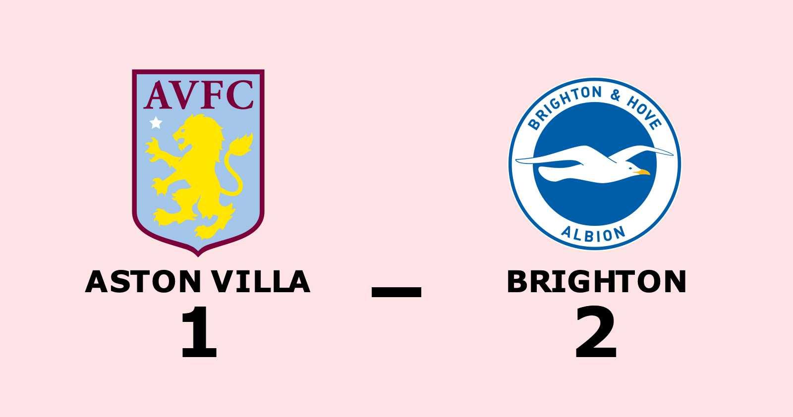 Brighton vann efter sex matcher i rad utan seger