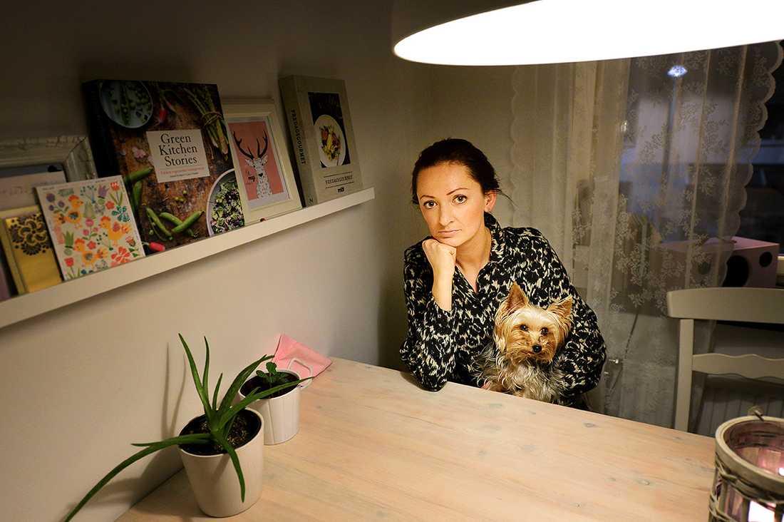 Maja, 33, reagerade på att hennes lokala ICA-handlare möblerat om i entrén och skrev om det på sociala medier.