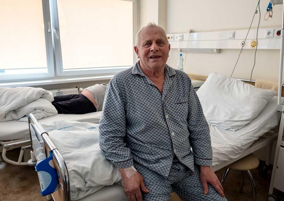 –Vården kommer att bli mycket bättre, tror patienten Meczystaw Kardas.