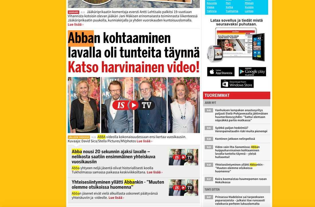 Finska Iltasanomat.