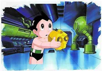 "Tezuka Osamu (1928-1989): ""Tetsuwan Atomu"" (Astro Boy), 1963. Collection of Mike and Jeanne Glad"