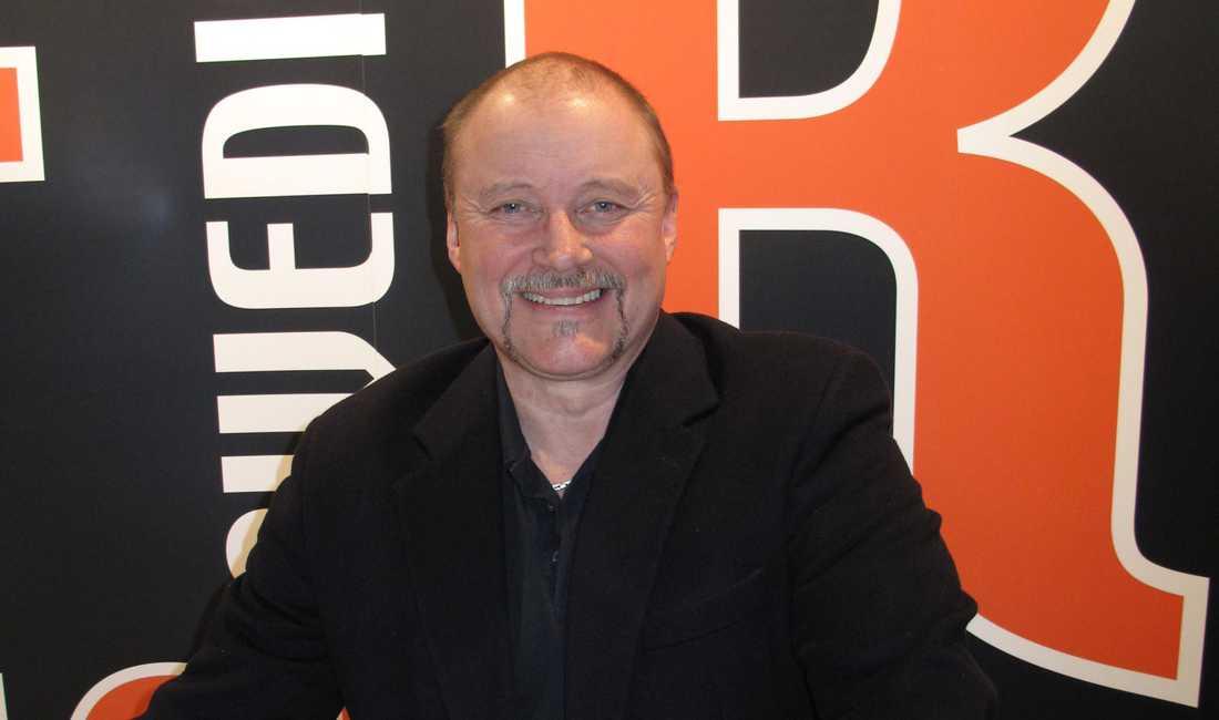 Magnus Sjöholm, ombudsman på Brandmännens riksförbund.