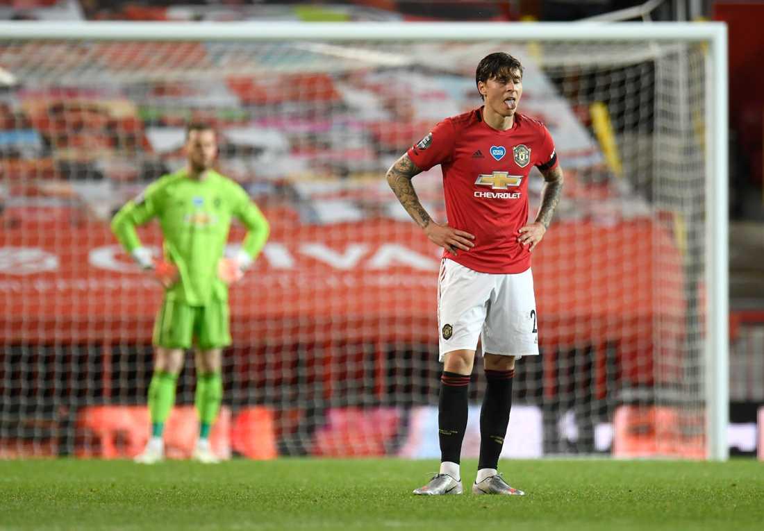 Victor Nilsson Lindelöf har haft en tung start på säsongen med Manchester United.