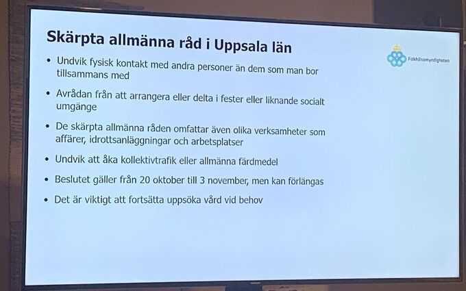 Nya lokala råd i Uppsala.