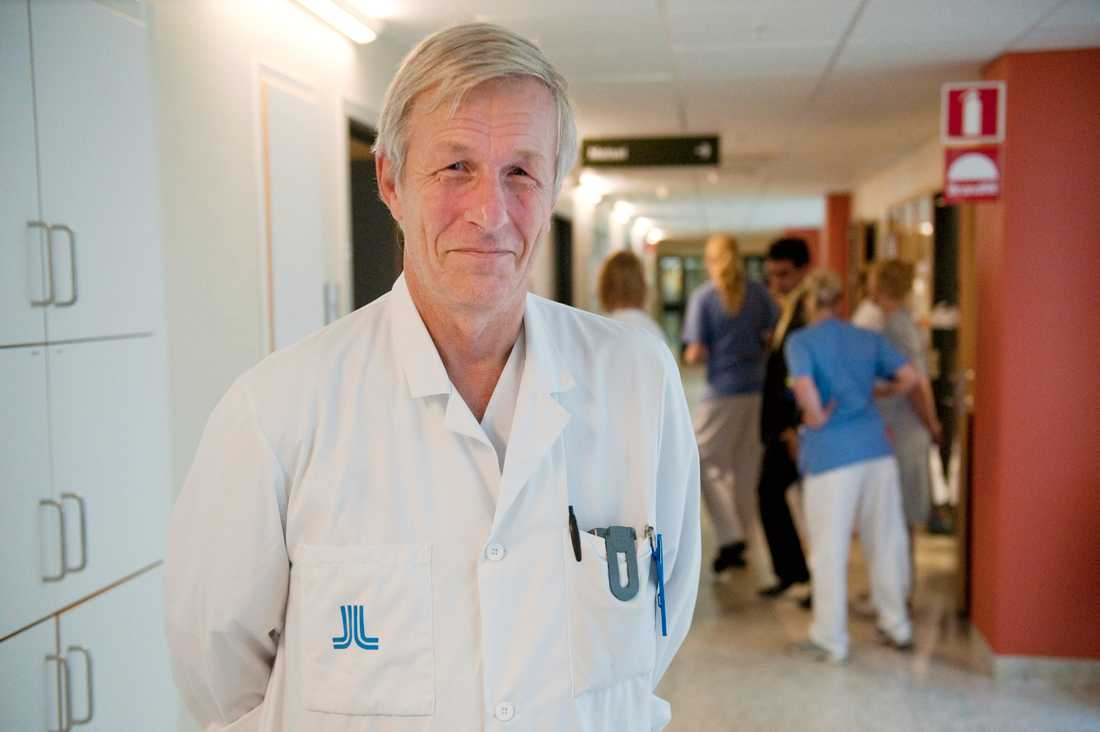 """REVOLUTION. Åke Andrén-Sandberg, ordförande för  RF:s dopningskommission, kallar """"gensaxen"""" för en revolution."""