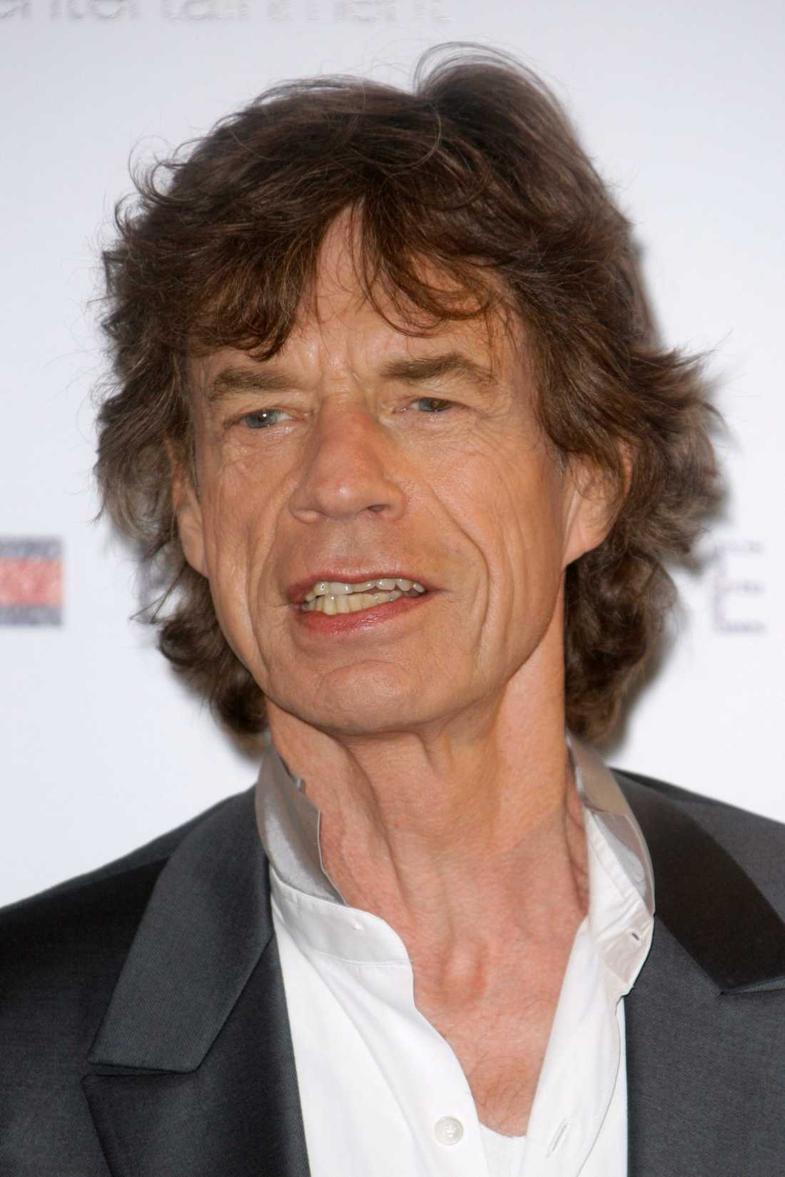 18 Mick Jagger, The Rolling Stones.