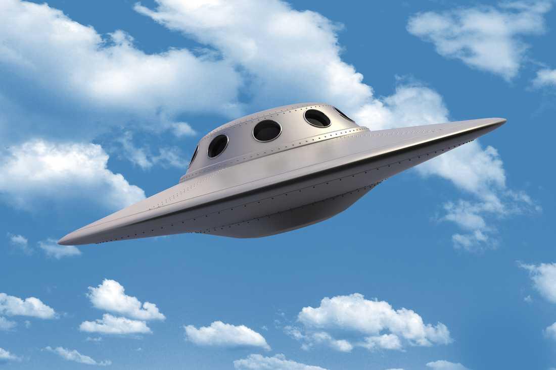 Ufo, ett oidentifierat flygande objekt. (Arkivbild.)