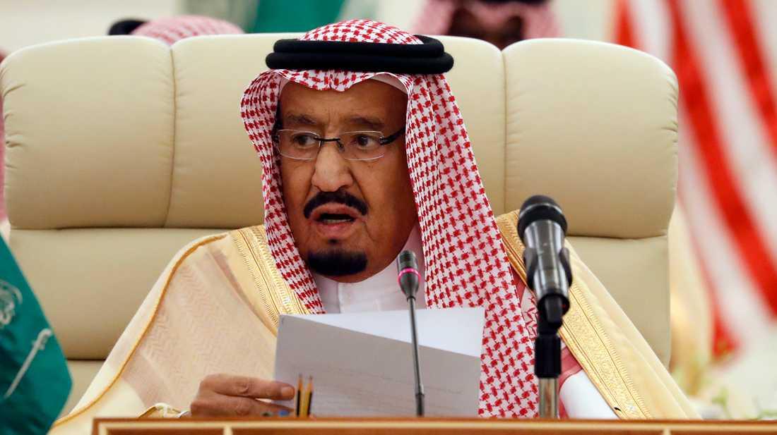 Kung Salman av Saudiarabien. Arkivbild.