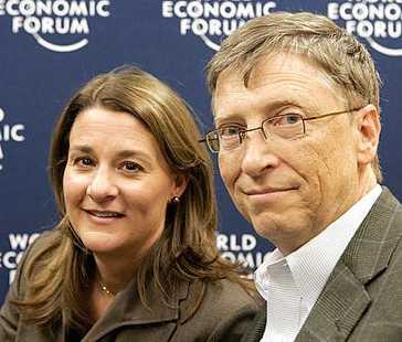 Bill Gates, god för 53 miljarder dollar, har tillsammans med hustrun Melinda placerat 28 miljarder dollar i parets välgörenhetsstiftelse.