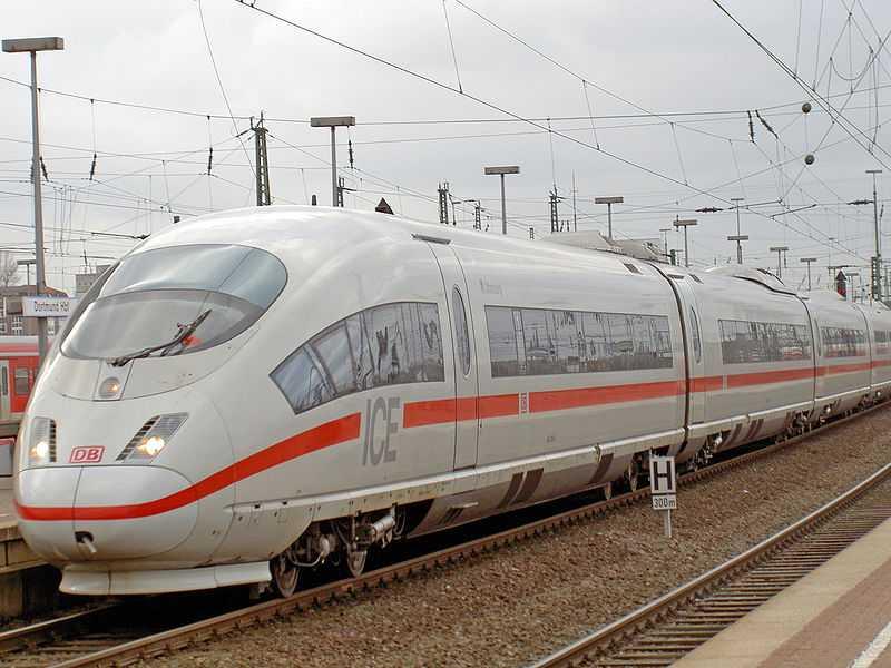 Tredje generationens Intercityexpress-tåg  med topphastigheten 330 km/h. Finns bland annat i Tyskland.