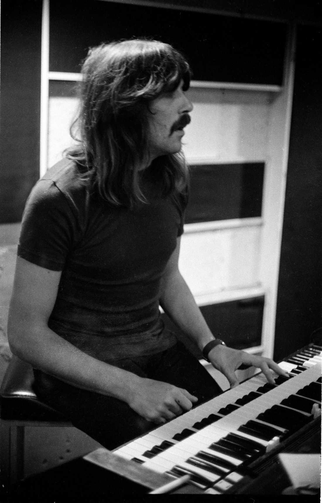 Jon Lord i en inspelningsstudio i London 1970.