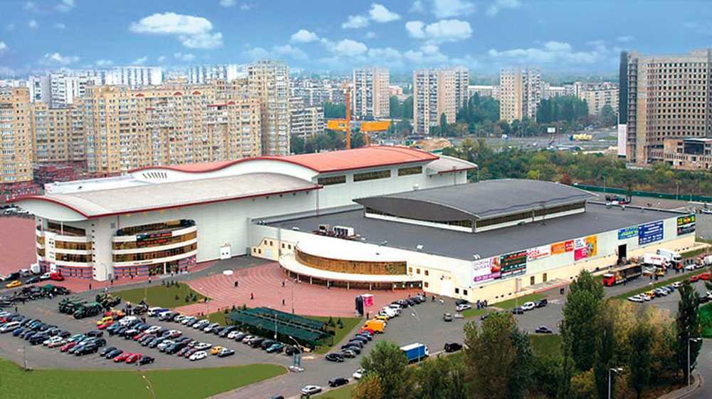 Eurovison 2017 hålls i International exhibition centre i Kiev, som har en publikkapacitet på 11000 personer.