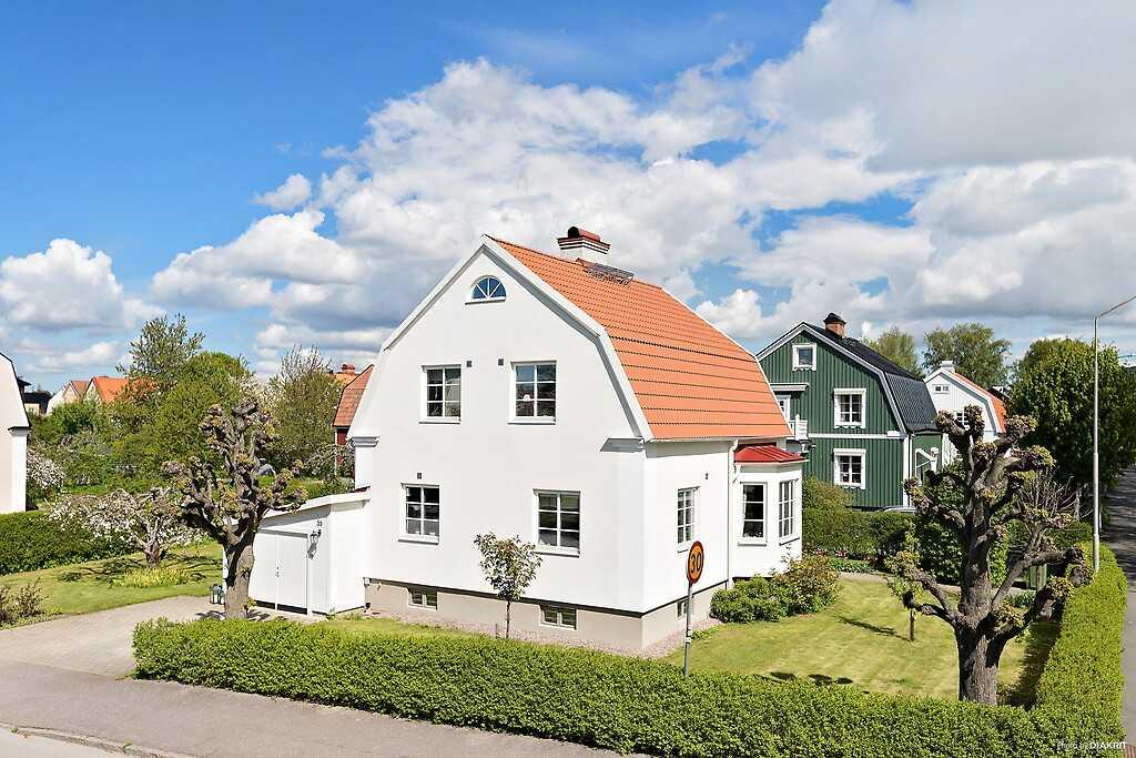 Vikingagatan, Svartbäcken.