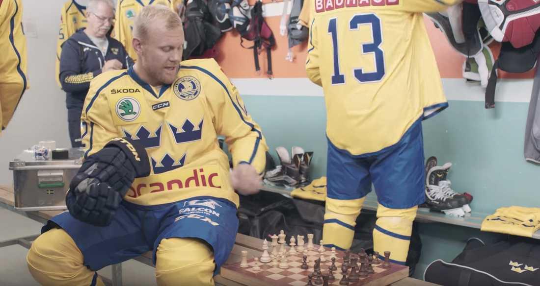 Patric Hörnqvist i reklamfilmen som gick varm under World Cup.