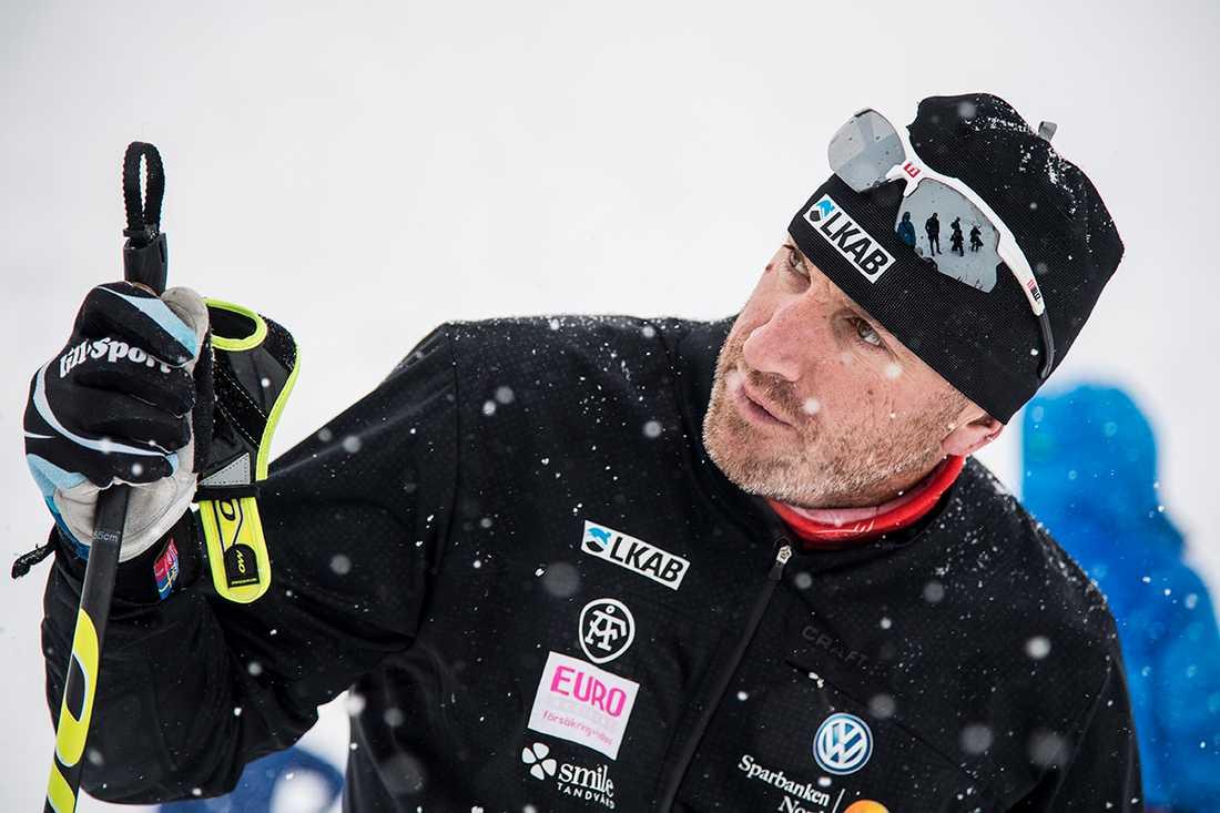 Charlotte Kallas tränare, Magnus Ingesson.