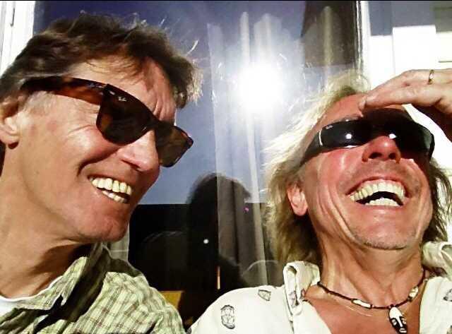 Johannes Brost och Tomas Forssell.