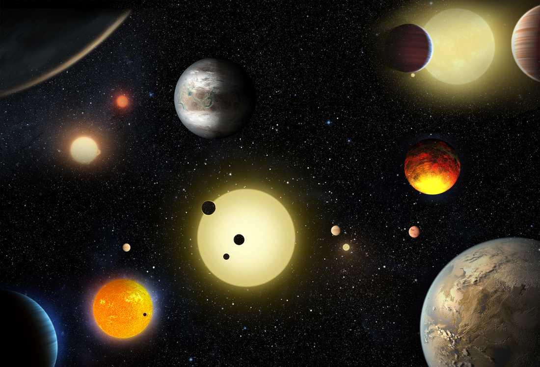 Keplerteleskopets främsta uppgift är att jaga jordliknande planeter.