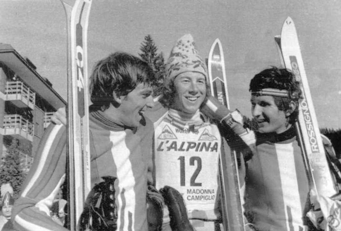 Paolo di Chiesa, Italien till höger kom tvåa och Fausto Radici, Italien till vänster blev trea.