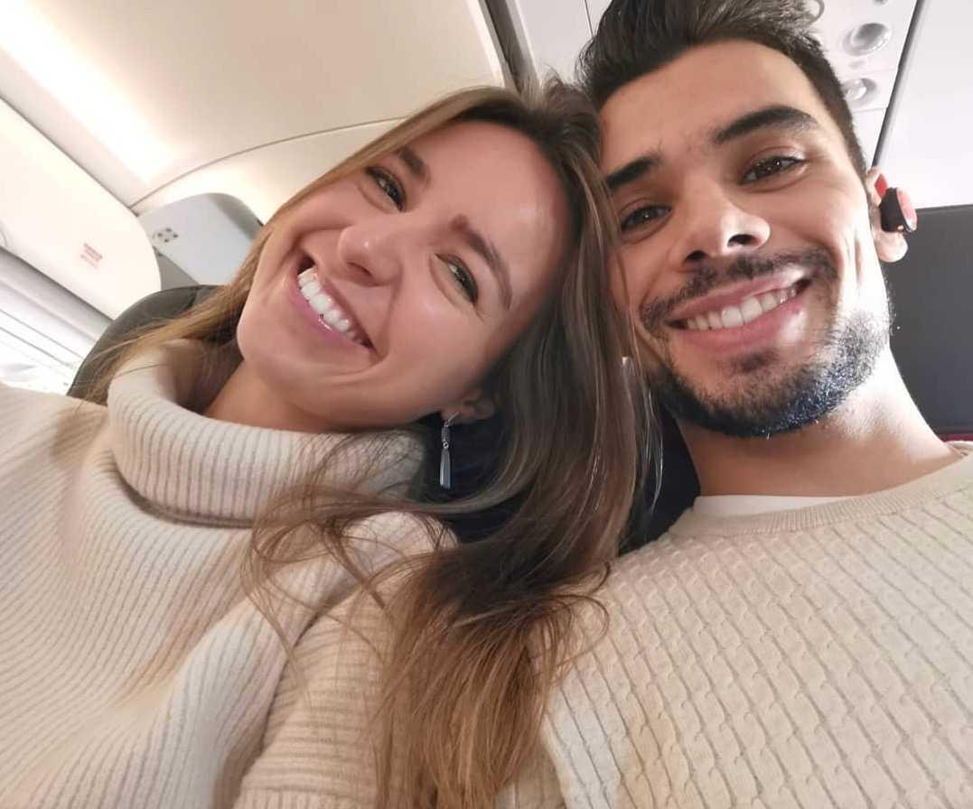 Andreia Pimenta och Miguel Oliveira.