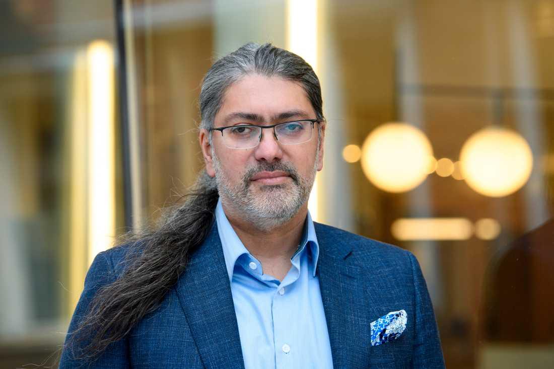 Ali Mirazimi, professor och virusforskare vid Karolinska institutet.