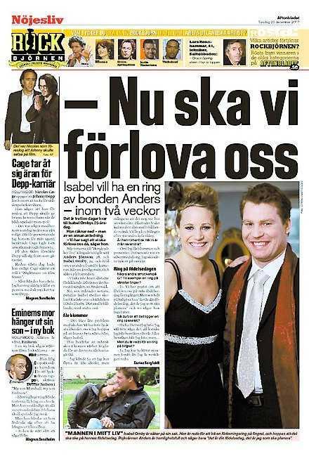 Aftonbladet 20 december.