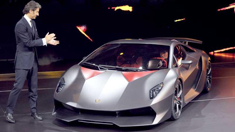 Lamborghinis senaste skapelse – Sesto Elemento Foto: Scanpix