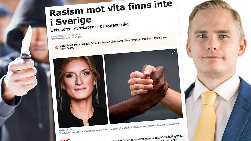 Fhager Havdelin påstår att människor som tillhör majoritetssamhället inte kan utsättas för rasism. Innebär det att svenskar i Afghanistan inte kan vara rasister mot afghaner, för att sedan ta ett flyg till Sverige och vara potentiella rasister? Nej, skriver Henrik Gustafsson, presschef (SD) i en replik till Teskedsorden.
