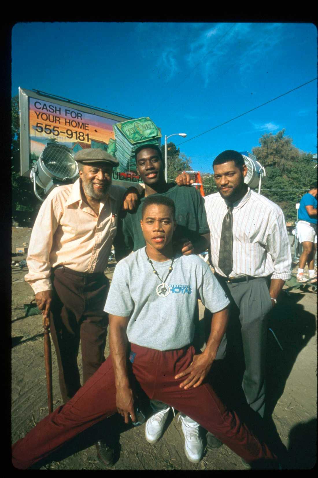 """Ur filmen """"Boyz n the hood""""."""