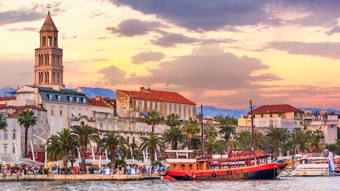 Split är en inkörsport till övriga Kroatien.